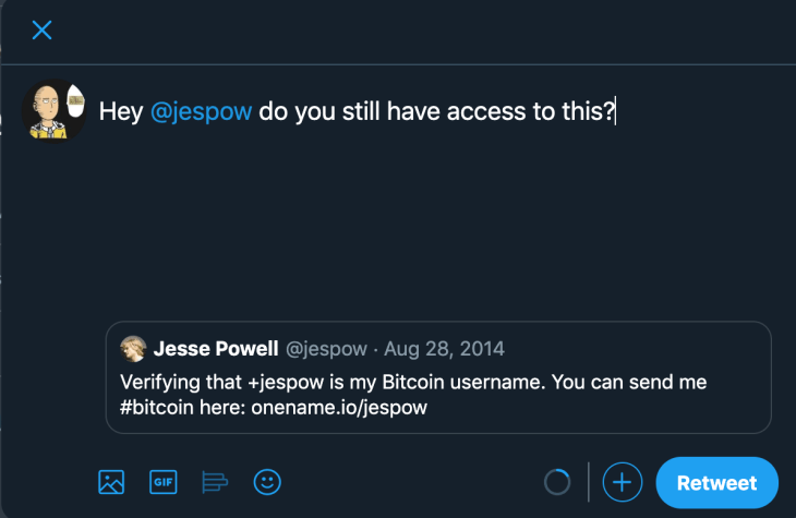 Twitter Attempt 4 Crypto Domain Hijacking