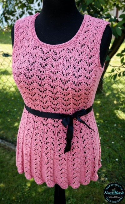 lochmuster, ajourmuster, love is in the air, sommer top, drops design