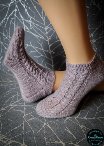 socken stricken wolle premium silk test