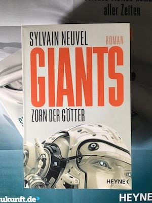 Giants Zorn der Götter Book Cover