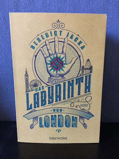 Das Labyrinth von London Benedict Jacka Alex Verus 1