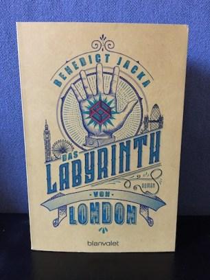 Das Labyrinth von London Benedict Jacka Alex Verus 1
