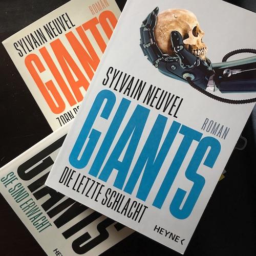 Giants - Die letzte Schlacht Book Cover