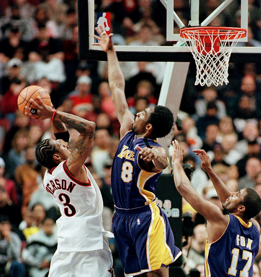 「Obsession Is Natural」- Kobe Brayant 防守 Allen Iverson-2