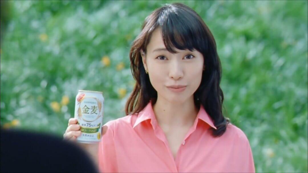 戶田惠梨香三得利金麥啤酒cm