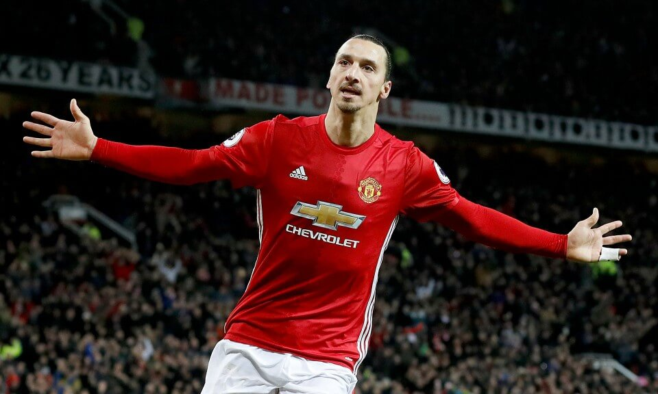 英超曼聯的球衣廣告,以 Ibrahimovic 為例