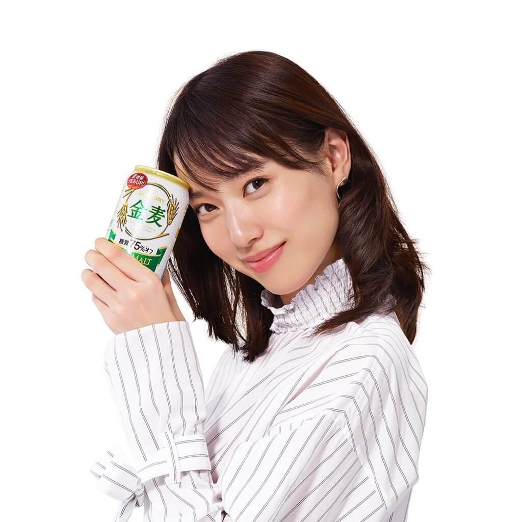 戶田惠梨香三得利金麥 CM -「新!金麥〈糖質75%オフ〉」篇推特圖A