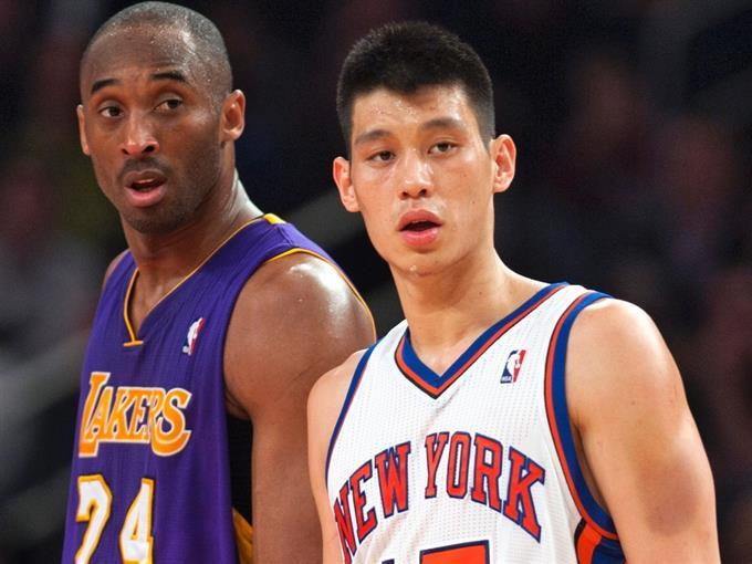 Lin 和 Kobe