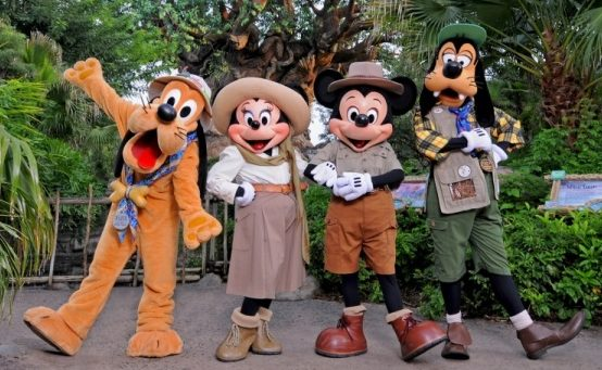 costumes at disneyland title image