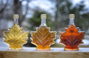 maple-syrup-in-glass-leaf