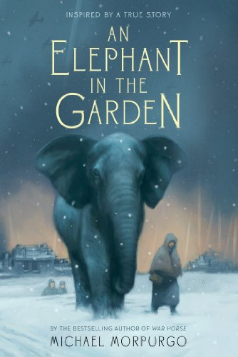 An Elephant in the Garden by Michael Morpurgo | reading, books, book covers, cover love, elephants