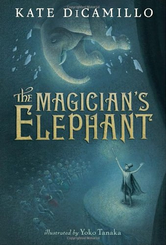 The Magician's Elephant by Kate DiCamillo | reading, books, book covers, cover love, elephants