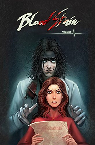 Blood Stain Vol. 1 by Linda Sejic | books, reading, book covers