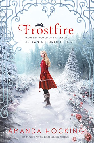 Frostfire by Amanda Hocking | reading, books, books covers, cover love, snow
