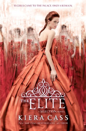 The Elite by Kiera Cass | books, reading, book covers, cover love