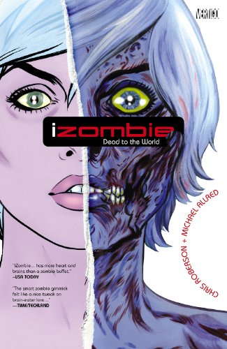 iZombie Vol. 1 by Chris Roberson & Michael Allred | reading, books, book covers, cover love, zombies