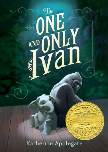 The One and Only Ivan by Katherine Applegate | reading, books, book covers, cover love, elephants