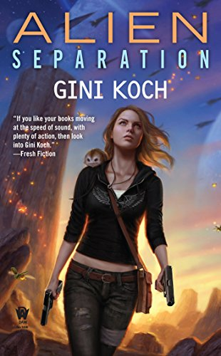 Alien Separation by Gini Koch | reading, books, book covers, cover love, spaceships, ufos