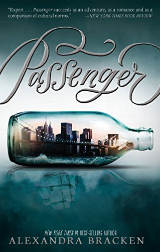 Passenger by Alexandra Bracken | reading, books, book covers, cover love, ships