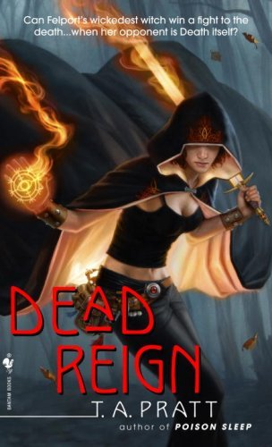 Dead Reign by T.A. Pratt | reading, books, book covers, cover love, cloaks, hoods