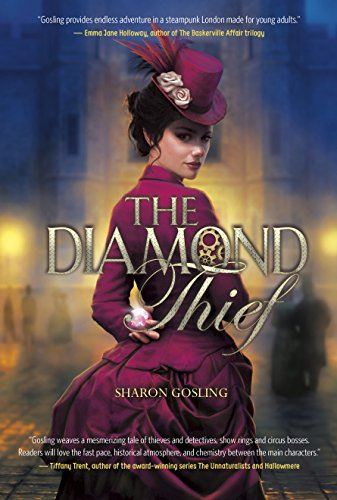 The Diamond Thief by Sharon Gosling | books, reading, book covers, cover love
