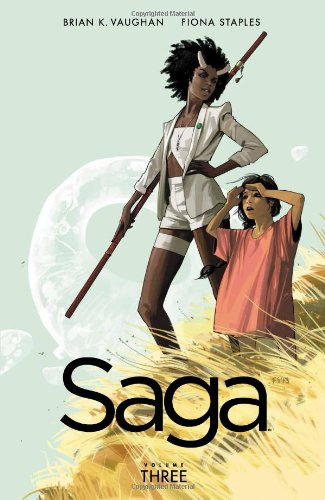 Saga Vol. 3 by Brian K. Vaughan & Fiona Staples | books, reading, book covers
