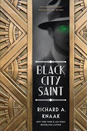 Black City Saint by Richard A. Knaak