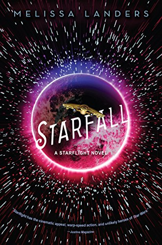 Starfall by Melissa Landers | reading, books, book covers, cover love, spaceships, ufos