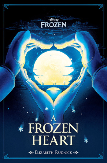 Book Review: A Frozen Heart by Elizabeth Rudnick | books, reading, book covers, book reviews, fantasy, fairy tales & folklore, middle grade