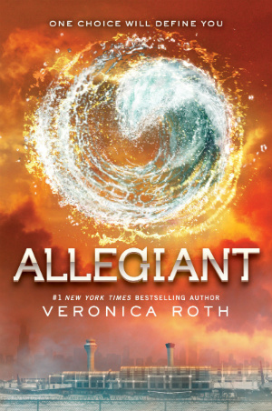 3 Star Book Review: Allegiant (Divergent Trilogy Book 3) by Veronica Roth | books, book reviews, sci-fi, dystopian, YA