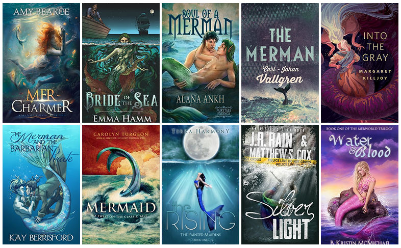 Book Covers featuring Mermaids/Mermen | reading, books, book covers, cover love, mermaids, mermen