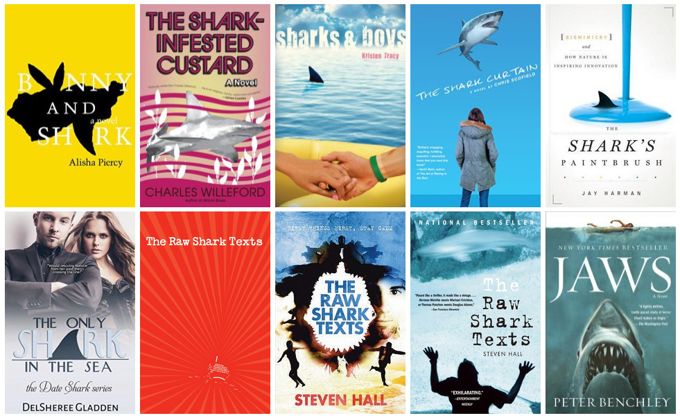 Book Covers featuring Sharks | books, reading, book covers, cover love, sharks