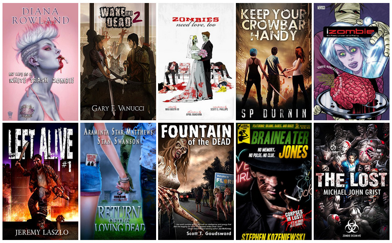 Cover Characteristics: Book Covers featuring Zombies   reading, books, book covers, cover love, zombies
