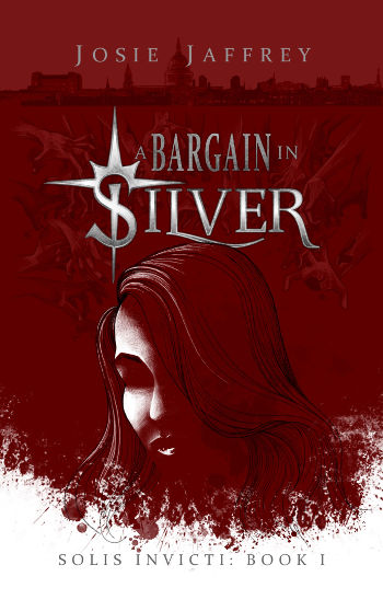 Book Review: A Bargain in Silver (Solis Invicti Book 1) by Josie Jaffrey | reading, books, fantasy, paranormal/urban fantasy, vampires