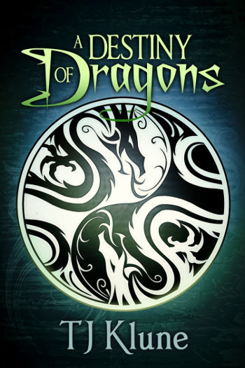 Book Review: A Destiny of Dragons (Tales from Verania Book 2) by TJ Klune | reading, books, book reviews, fantasy, high fantasy, lgbt, m/m, dragons