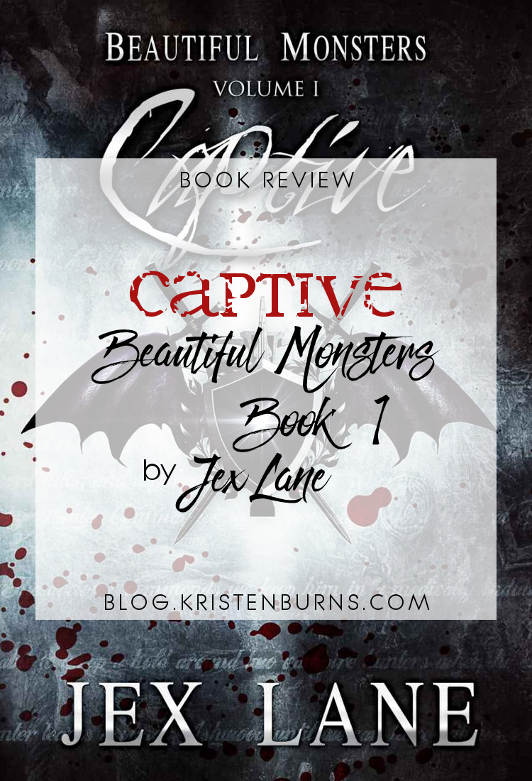 Book Review: Captive (Beautiful Monsters Book 1) by Jex Lane | reading, books, book reviews, fantasy, urban fantasy, lgbt, m/m, vampires, incubi