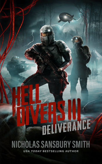 Book Review: Deliverance (Hell Divers Book 3) by Nicholas Sansbury Smith | reading, books, book reviews, science fiction, post-apocalytpic