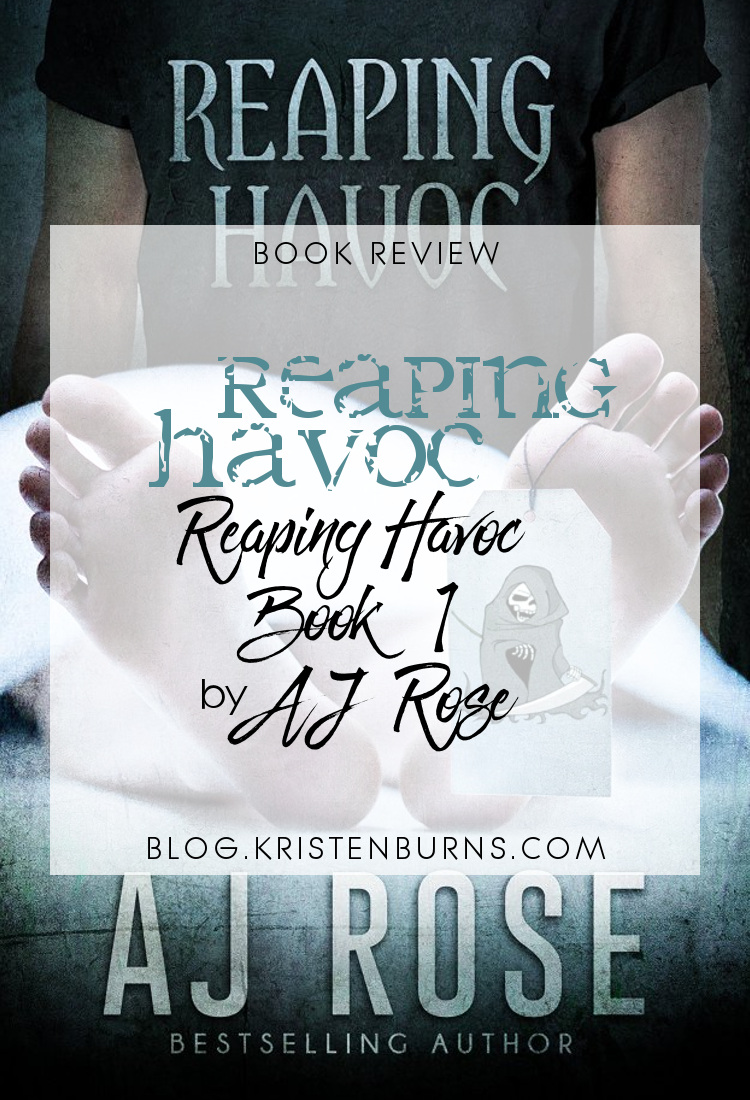 Book Review: Reaping Havoc (Reaping Havoc Book 1) by AJ Rose | reading, books, book reviews, fantasy, paranormal/urban fantasy, paranormal romance, lgbt, m/m, reapers