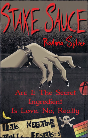 Book Review: Stake Sauce (Stake Sauce Book 1) by RoAnna Sylver | reading, books, lgbt+, paranormal/urban fantasy, vampires, disability
