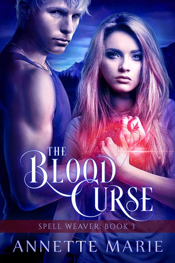 Book Review: The Blood Curse (Spell Weaver Book 3) by Annette Marie | reading, books, book reviews, urban fantasy, new adult