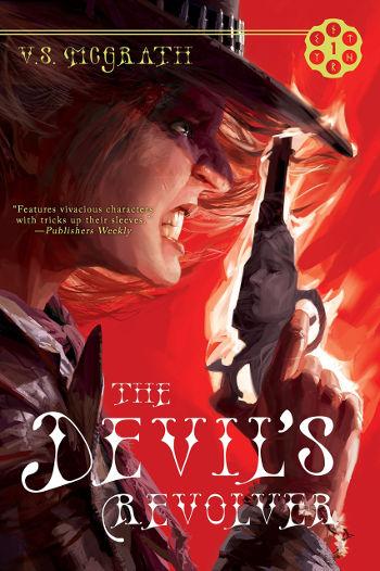 Book Review: The Devil's Revolver (The Devil's Revolver Book 1) by V.S. McGrath | reading, books, book reviews, fantasy, paranormal/urban fantasy, western