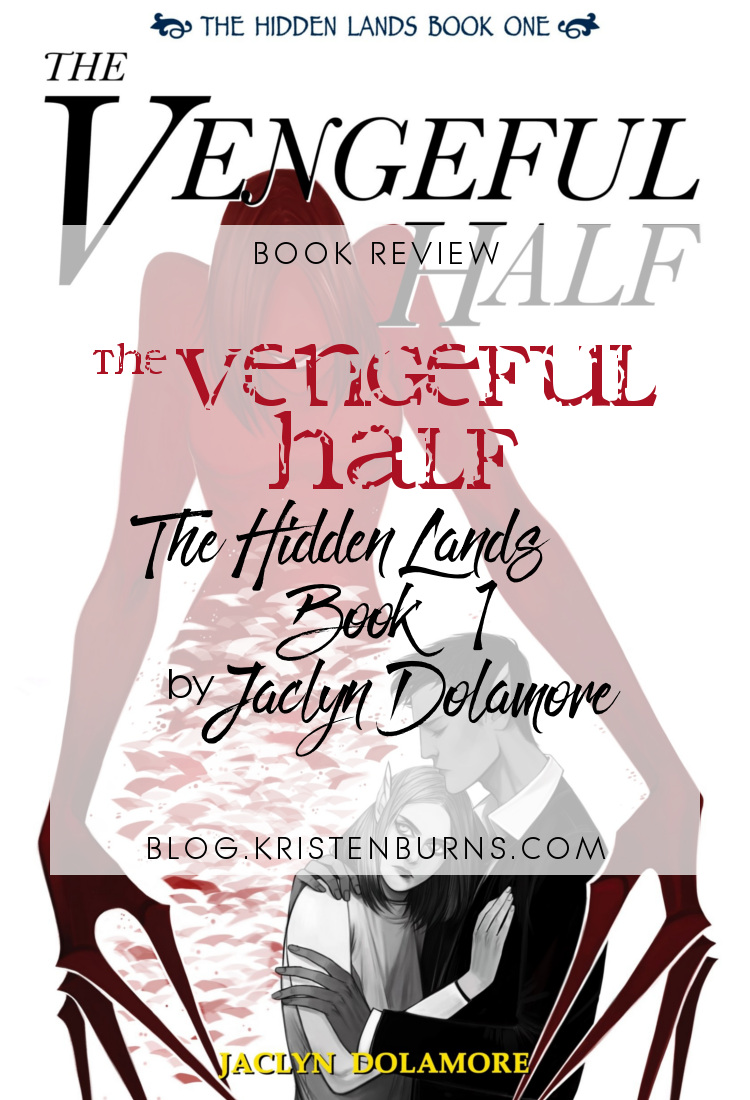 Book Review: The Vengeful Half (The Hidden Lands Book 1) by Jaclyn Dolamore | reading, books, book reviews, fantasy, urban fantasy, young adult, telepaths, blindness
