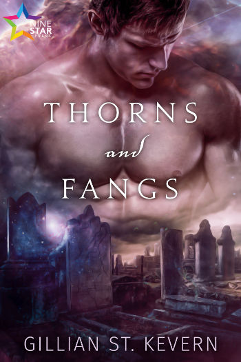 Book Review: Thorns and Fangs (Thorns and Fangs Book 1) by Gillian St. Kevern | reading, books, book reviews, paranormal/urban fantasy, lgbt, vampires