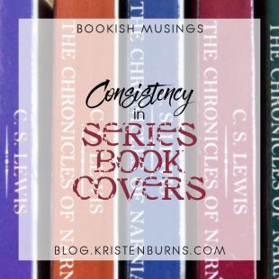 Bookish Musings: Consistency in Series Book Covers