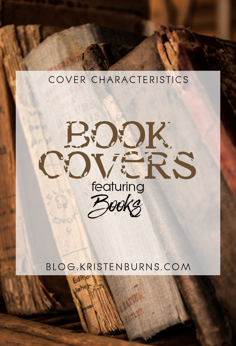 Cover Characteristics: Book Covers featuring Books | books, reading, book covers, cover love
