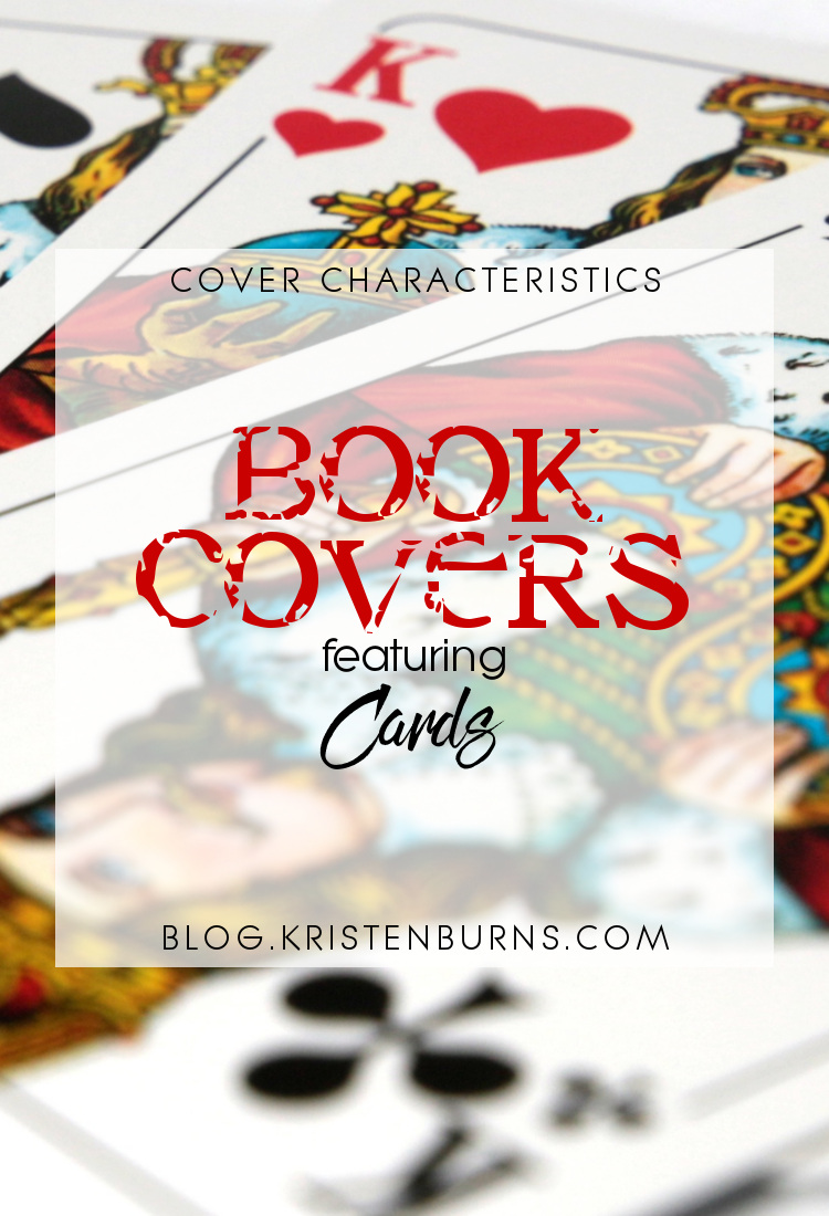 Cover Characteristics: Book Covers featuring Cards | reading, books, book covers, cover love, cards