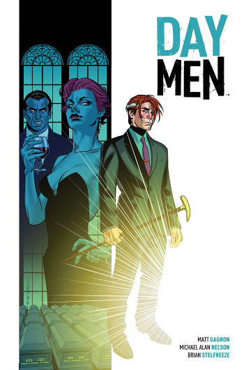 Graphic Novel Review: Day Men Vol. 1 by Matt Gagnon, Michael Alan Nelson, & Brian Stelfreeze | reading, books, book reviews, graphic novel, fantasy, urban fantasy, vampires