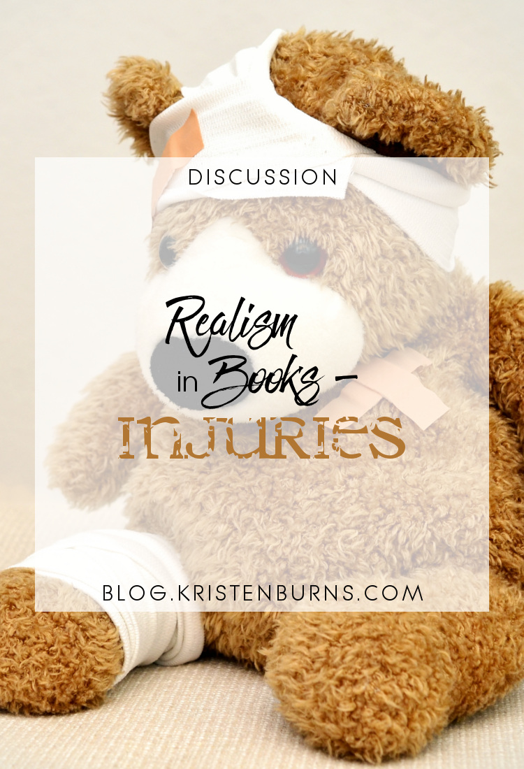 Discussion: Realism in Books - Injuries | reading, books, discussions