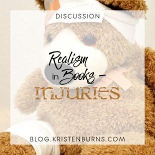 Bookish Musings: Realism in Books – Injuries