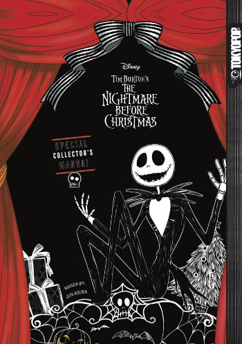 Graphic Novel Review: Disney Manga Tim Burton's Nightmare Before Christmas by Jun Asuka | reading, books, book reviews, graphic novel, fantasy
